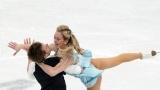 На одном дыхании: Синицина и Кацалапов выиграли ритм-танец у двух американских пар на ЧМ по фигурному катанию