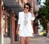 Костюм с шортами: тенденции моды, самые удачные модели, фото